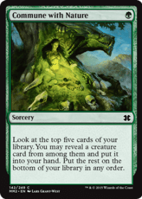 Commune with Nature (Foil)