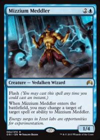 Mizzium Meddler (Foil)