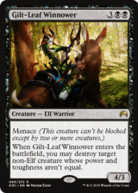 Gilt-Leaf Winnower (Foil)