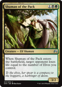 Shaman of the Pack (Foil)