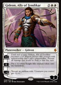Gideon, Ally of Zendikar (Foil)