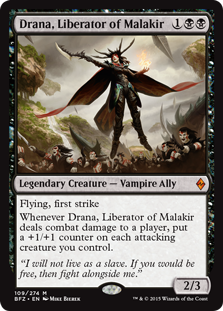 Drana, Liberator of Malakir (Foil)