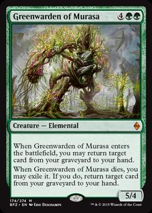 Greenwarden of Murasa (Foil)