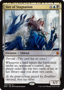 Sire of Stagnation (Foil)