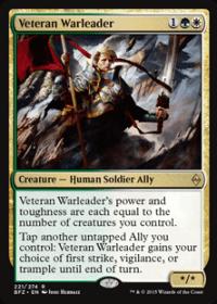 Veteran Warleader (Foil)