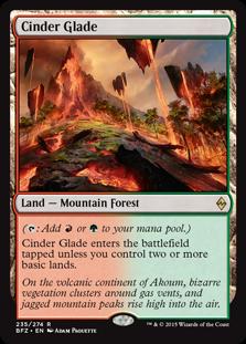 Cinder Glade (Foil)