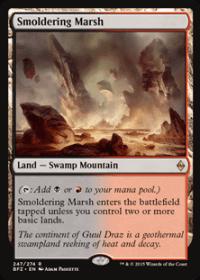 Smoldering Marsh (Foil)