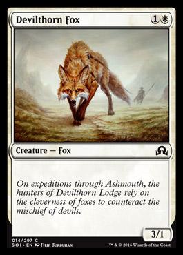 Devilthorn Fox