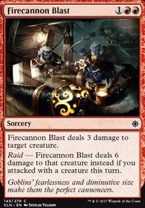 Firecannon Blast