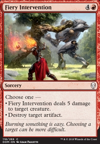 Fiery Intervention