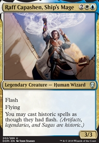 Raff Capashen, Ship's Mage