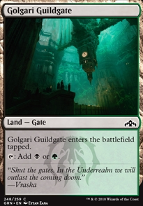 Golgari Guildgate (a)
