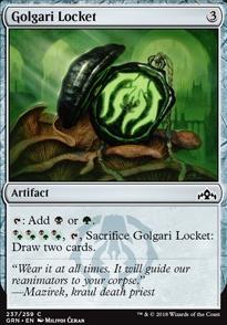 Golgari Locket
