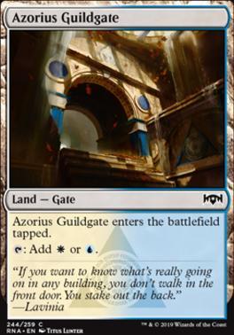 Azorius Guildgate (b)