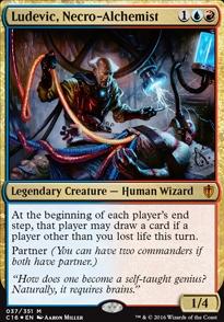 Ludevic, Necro-Alchemist (Foil)