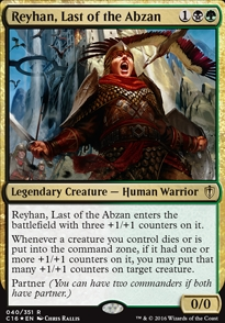 Reyhan, Last of the Abzan (Foil)