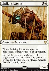 Stalking Leonin