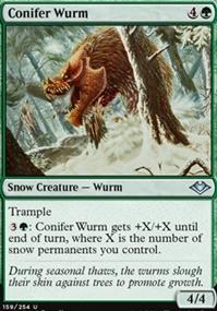 Conifer Wurm
