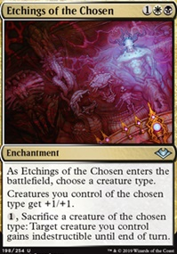 Etchings of the Chosen