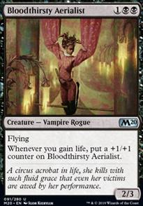 Bloodthirsty Aerialist